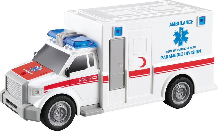 Adeland Nitro Speed 1:20 Polis Ambulans Beyaz