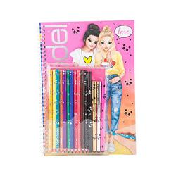 Top Model - Agt Top Model Boyama Kitabı Kalemli