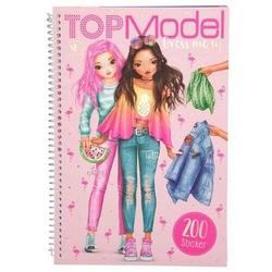 Top Model - Agt Top Model Boyama Kitabı Tr.Flamingo