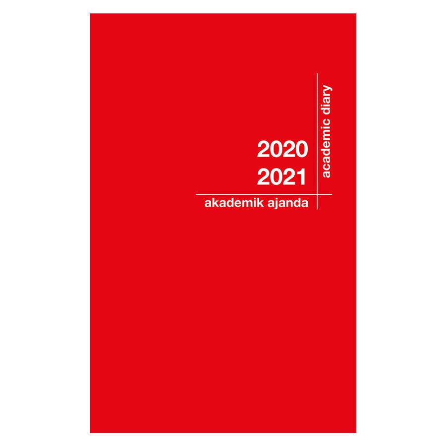 Akademi Çocuk Akademik Ajanda 2021-2022 Kırmızı 3078