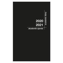 Akademi Çocuk - Akademi Çocuk Akademik Ajanda 2021-2022 Siyah 3079