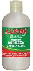 Alpino - Alpino Akrilik Metalik Boya 250 ml Sedef