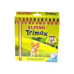 Alpino - Alpino Trimax Jumbo Kuru Boya 12'li