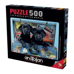 Anatolian Puzzle - Anatolian Puzzle Gezgin Köpekler Travel Labs 500'lü
