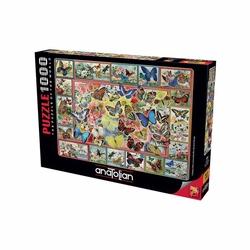 Anatolian Puzzle - Anatolian Puzzle Kelebekler Lots Of Butterflies 1000'li