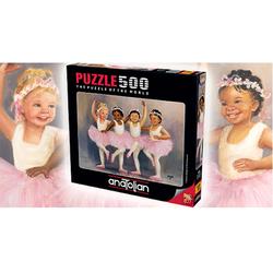 Anatolian Puzzle - Anatolian Puzzle Minik Balerinler Little Ballerinas 500'lü