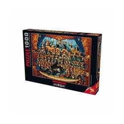 Anatolian Puzzle - Anatolian Puzzle Orkestra Fortissimo 1000'li