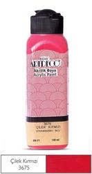 Artdeco - Artdeco Akrilik Boya 140ml Çilek Kırmızısı
