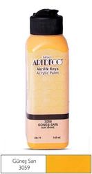 Artdeco - Artdeco Akrilik Boya 140ml Güneş Sarı