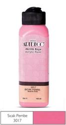 Artdeco - Artdeco Akrilik Boya 140ml Sıcak Pembe