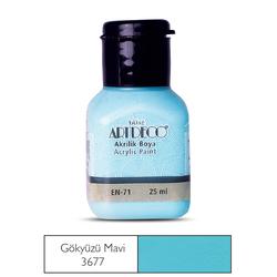Artdeco - Artdeco Akrilik Boya 25ml Gökyüzü Mavi