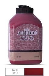 Artdeco - Artdeco Akrilik Boya 500ml Bordo