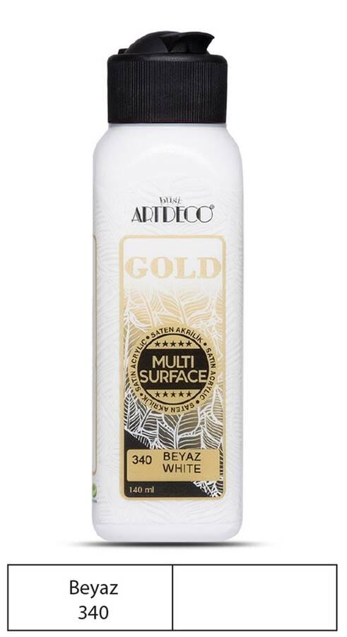 Artdeco Akrilik Boya Gold 140 ml Beyaz