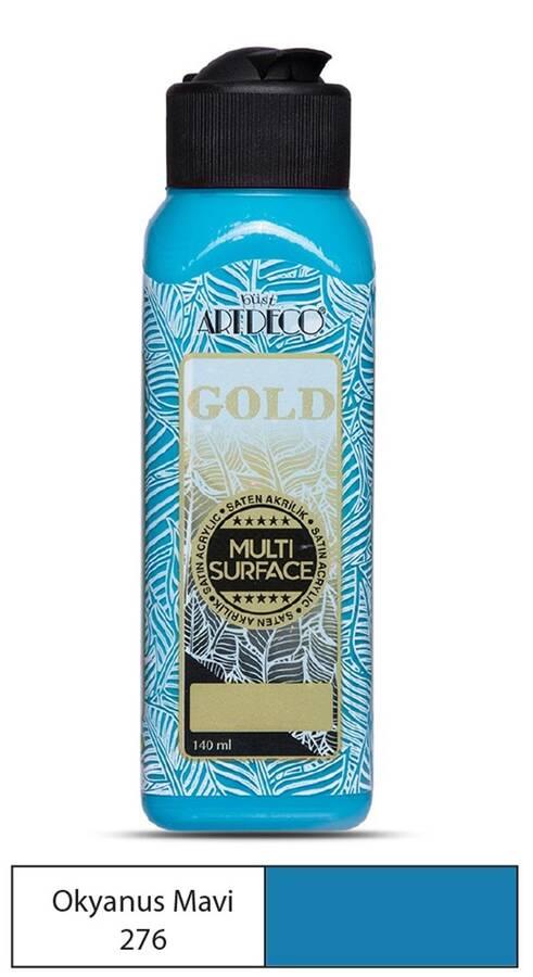 Artdeco Akrilik Boya Gold 140 ml Okyanus Mavi