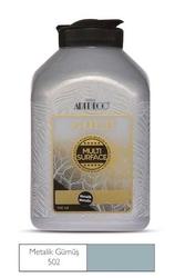 Artdeco - Artdeco Akrilik Boya Gold Metalik 500 ml Gümüş