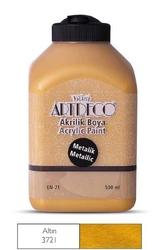 Artdeco - Artdeco Metalik Akrilik Boya 500ml Altın