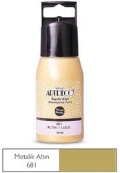 Artdeco - Artdeco Metalik Boyutlu Boya 60ml Altın