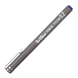 Artline - Artline 232 Çizim Kalemi Drawing System 0.2 mm Mavi