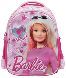 Barbie - Barbie Salto Shine Pink İlkokul Çantası