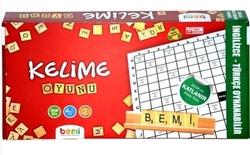 Bemi - Bemi Ahşap Kelime Oyunu