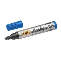 Bic - Bic 2000 Permanent Markör Yuvarlak Uçlu Mavi