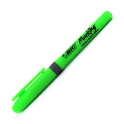 Bic - Bic Brite Liner Grip Kalem Tipi Fosforlu Kalem Yeşil