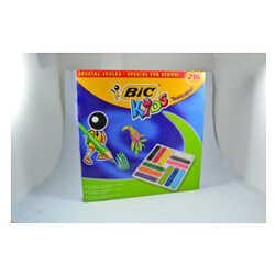 Bic - Bic Tropicolor 2 Uzun Kuru Boya Sınıf Paket