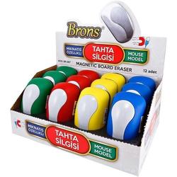 Brons - Brons Tahta Silgisi Mıknatıslı Mouse