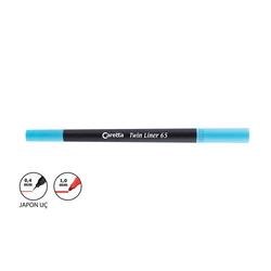 Caretta - Caretta Twin Liner Kalem 0.4 - 1 mm Turkuaz
