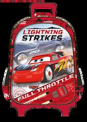 Otto - Cars Rocket Racing Çekçekli İlkokul Çantası
