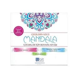 Bulut Yayın - Çizgilerin Gücü - Mandala Çocuklar İçin Boyama Kitabı