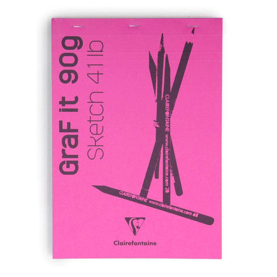 Clairefontaine Çizim B. Grafit Blanc A4 90gr 80 Yaprak