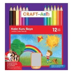 Craft and Arts - Craft And Arts Kuru Boya Jumbo 12'li