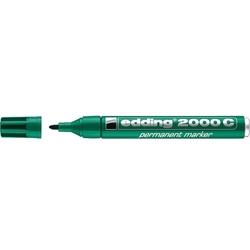 Edding - Edding 2000 C Permanent Markör Yuvarlak Uç 1.5-3 mm Yeşil