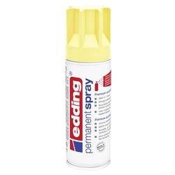 Edding 5200 Permanent Sprey Premium Akrilik Boya Pastel Sarı Mat - Thumbnail