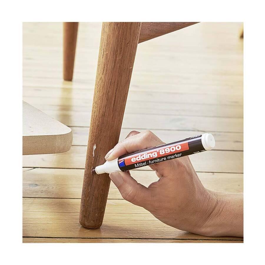 Edding 8900 Mobilya Rötuş Kalemi Ceviz Ağacı Açık