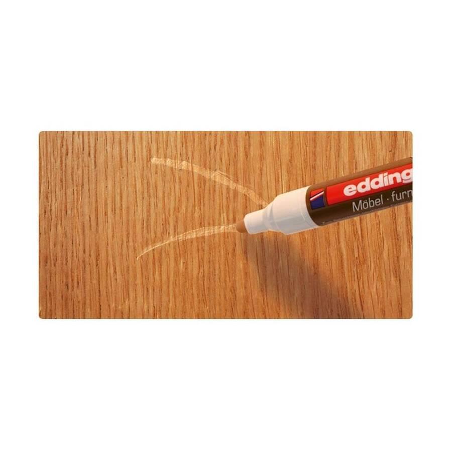 Edding 8900 Mobilya Rötuş Kalemi Saf Beyaz