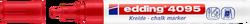 Edding - Edding 4095 Likit Tebeşir Kalemi Kırmızı