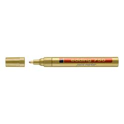 Edding - Edding 750 Tam Örtücü Boya Markörü Altın