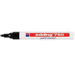 Edding - Edding 750 Tam Örtücü Boya Markörü Siyah