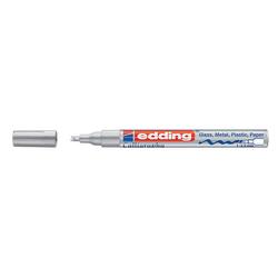 Edding - Edding Kaligrafi Kalemi 1-2,5 mm Gümüş