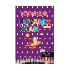 Salon Yayınları - Eğlenerek Boyama Kitabı-Gökyüzü