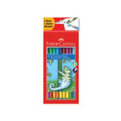 Faber-Castell - Faber Castell Boya Kalemi Çift Uçlu 12 Kalem 24 Renk