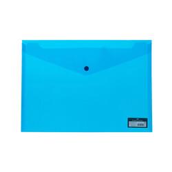 Faber-Castell - Faber Castell Çıtçıtlı Dosya Mavi