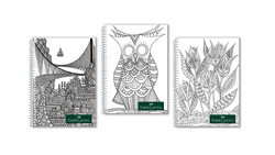 Faber-Castell - Faber Castell Defter pp Kapak Style A4 100 Yaprak Çizgili
