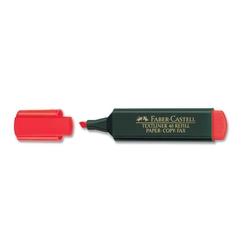 Faber-Castell - Faber Castell Fosforlu Kalem Kırmızı