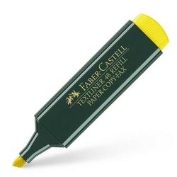 Faber-Castell - Faber Castell Fosforlu Kalem Sarı