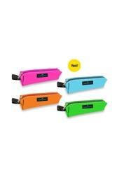 Faber-Castell - Faber-Castell Kalem Kutusu Slim Neon