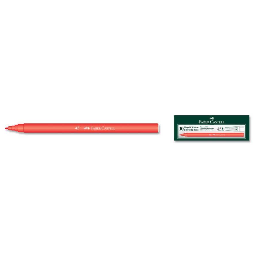 Faber Castell Keçeli Kalem Kırmızı