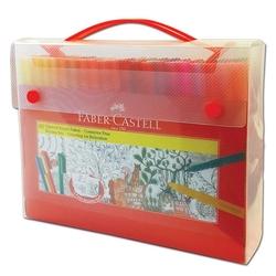 Faber-Castell - Faber Castell Keçeli Kartlı Eğlenceli 60'lı